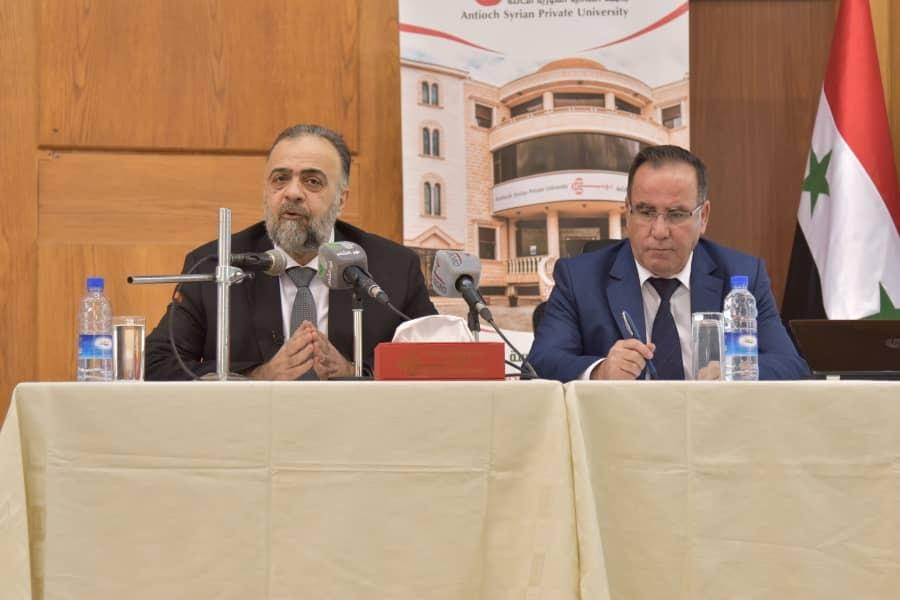دور التفسير الجامع في مكافحة التطرف في محاضرة لوزير الأوقاف في جامعة أنطاكية الخاصة