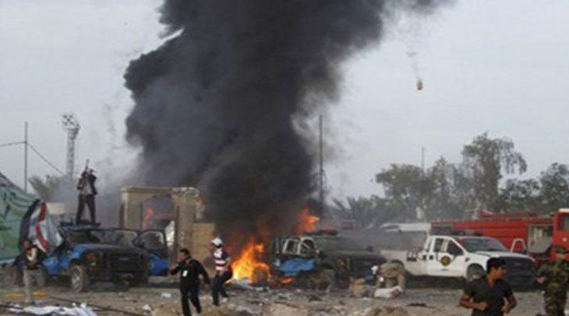 تفجيرين إرهابيين شرق العراق