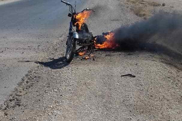 انفجار - دراجة مفخخة - الحسكة