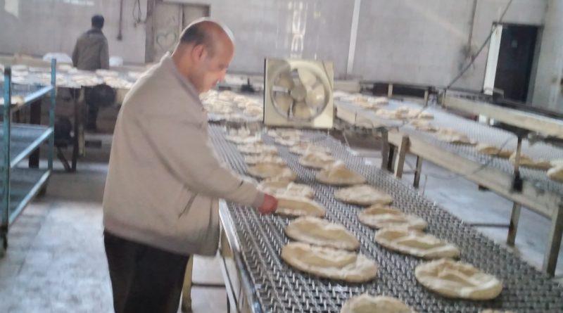 18 طنا إنتاج مخبز الحسكة الأول