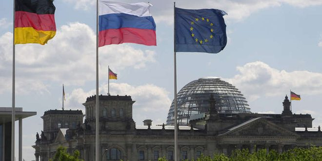 ألمانيا - روسيا - العقوبات