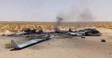 إسقاط مسيرة للنظام التركي شمال غرب ليبيا