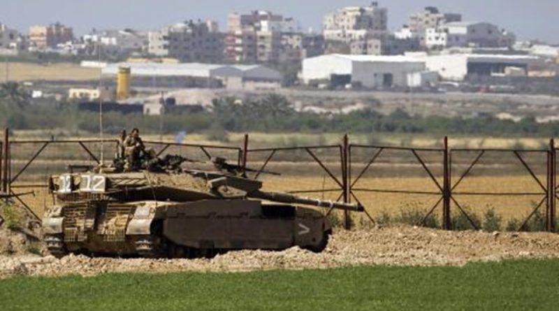 آليات الاحتلال العسكرية تتوغل جنوب قطاع غزة