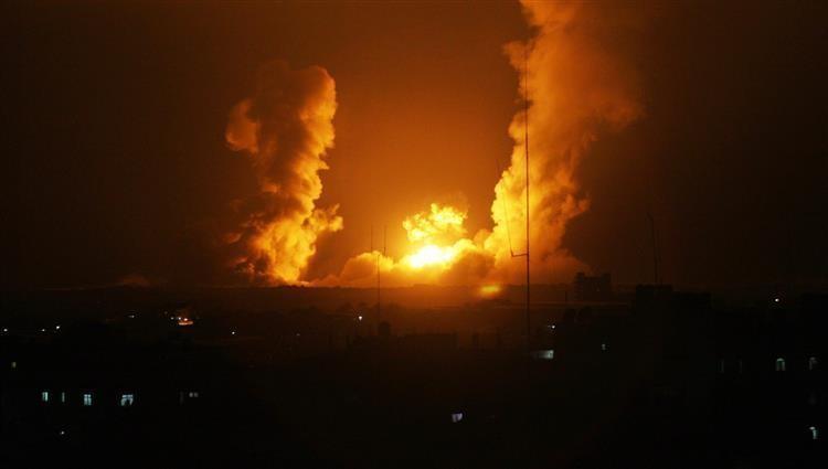 قطاع غزة.. طيران الاحتلال يقصف رفح