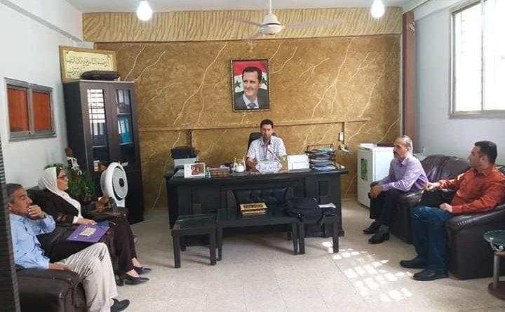 اجتماع موسع لتربية دير الزور