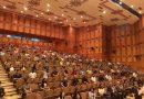 الرفاق الأعضاء العاملون الجدد في فرع اللاذقية للحزب يؤدون القسم الحزبي