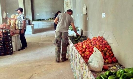 مبادرة «سوق الفلاحين بضيعتنا» في حمص