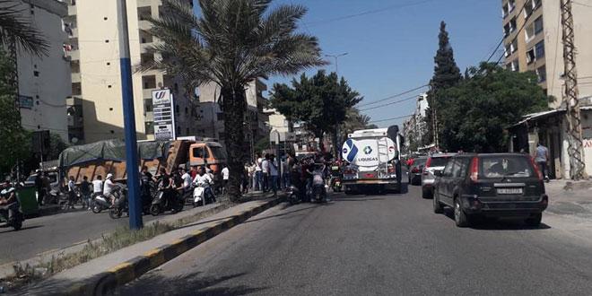 ارتقاء مدنيين بانفجار عبوة ناسفة في درعا البلد