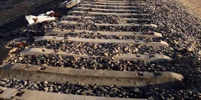 دير الزور- سكك حديدية - قسد