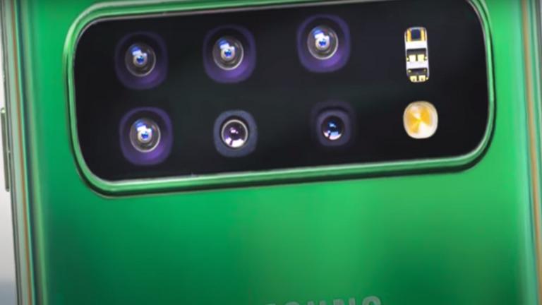 هاتف بـ 6 كاميرات متحركة من سامسونغ