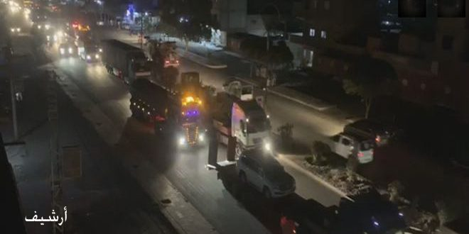 40 شاحنة للاحتلال الأمريكي تدخل إلى القاعدة غير الشرعية في المالكية
