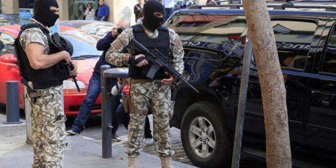 إيقاف إرهابي شمال لبنان
