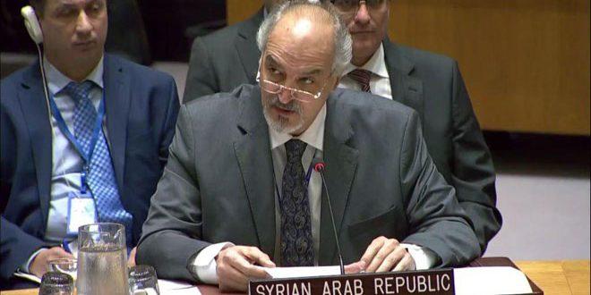 الجعفري: دول في مجلس الأمن تقوض العملية السياسية في سورية