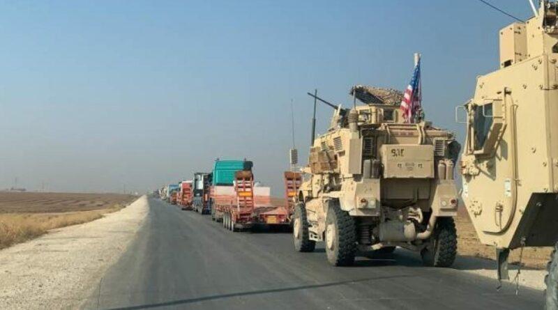 القوات الأمريكية غير الشرعية تستقدم تعزيزات عسكرية