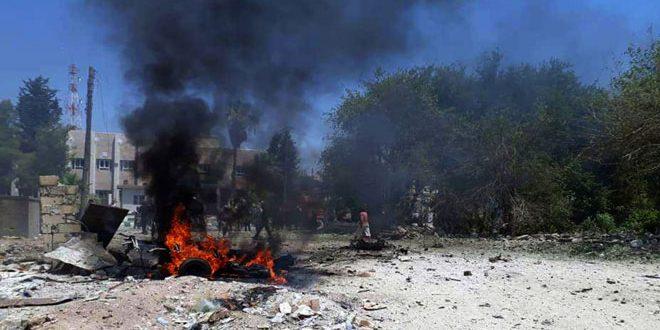 اعتداء تركي على قرى في ناحية أبو راسين بريف الحسكة