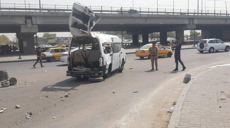 انفجار عبوة وسط بغداد