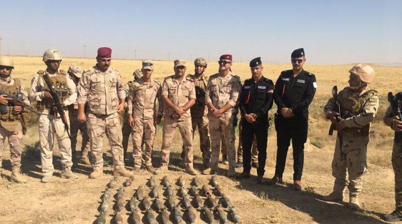 العثور على كدس للعبوات الناسفة شمالي العراق