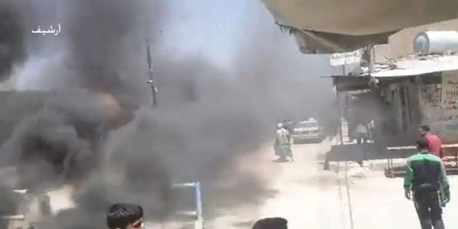 """القامشلي.. مظاهرات احتجاجية لأبناء ناحية تل حميس ضد ممارسات """"قسد"""""""