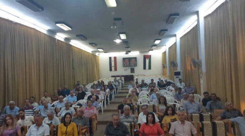 """""""مجلس الشعب بين الواقع والطموح"""".. لقاء حواري في اللاذقية"""