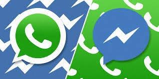 """من فيسبوك..تقنية سرية تتيح دمج تطبيقي """"ماسنجر"""" و""""واتسآب"""""""