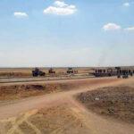ريف الحسكة.. عناصر من الجيش يعترضون رتلاً لقوات الاحتلال الأمريكي