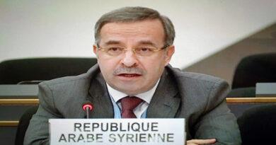 السفير آلا: تقارير لجنة التحقيق الدولية التابعة لمجلس حقوق الإنسان حول الحالة في سورية منفصلة عن الواقع