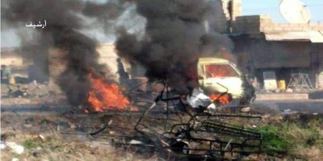إصابات بانفجار عبوة ناسفة في درعا