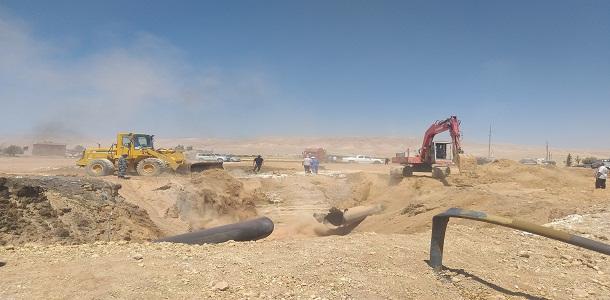 الانتهاء من إصلاح الأضرار في خط الغاز العربي