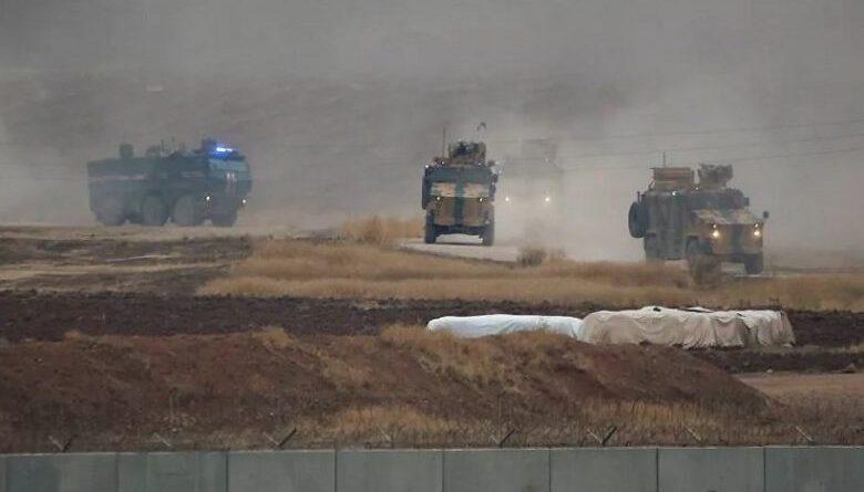 مرتزقة النظام التركي يسرقون معدات وآليات زراعية من ريف رأس العين