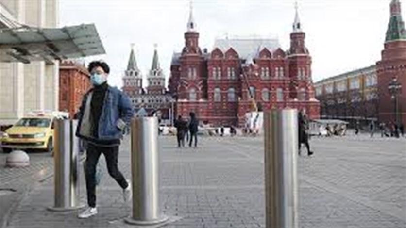 """نحو 6600 إصابة جديدة بـ""""كورونا"""" في روسيا"""