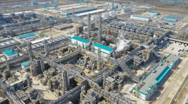 """بدأت شركة البتروكيماويات الروسية العملاقة """"سيبور"""" بتنفيذ مشروع بناء مجمع للغاز والكيميائيات"""