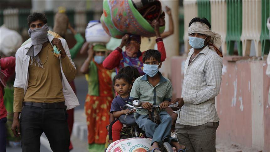 الهند..إصابات كورونا تتخطى الـ 8 ملايين إصابة