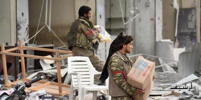 الحسكة.. مرتزقة الاحتلال التركي يسرقون ممتلكات الأهالي في قرية مريكيز