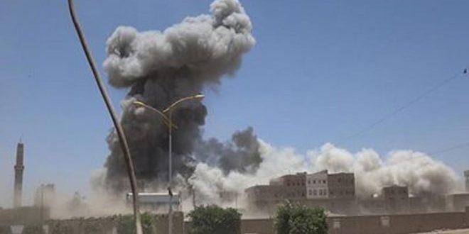 قصف صاروخي للعدوان على صعدة
