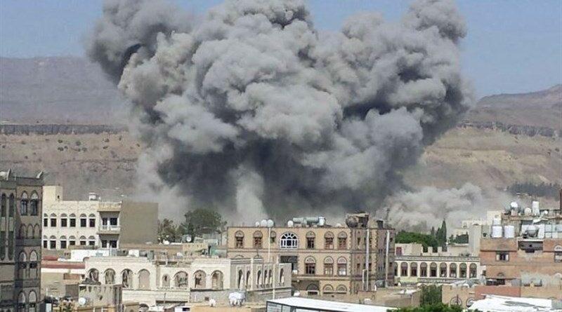 العدوان السعودي يستهدف مواقع حيوية بالعاصمة اليمنية