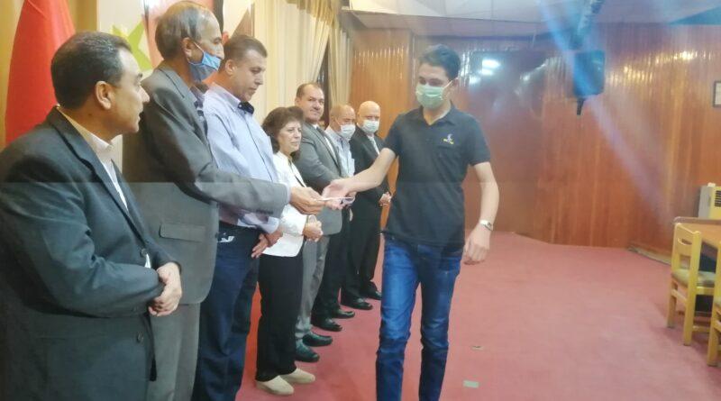 تكريم الطلاب الأوائل في محافظة درعا