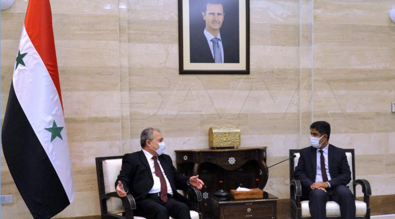 """بحث تعزيز التعاون والتنسيق بين سورية والصحة العالمية لمواجهة تحديات """"كورونا"""""""