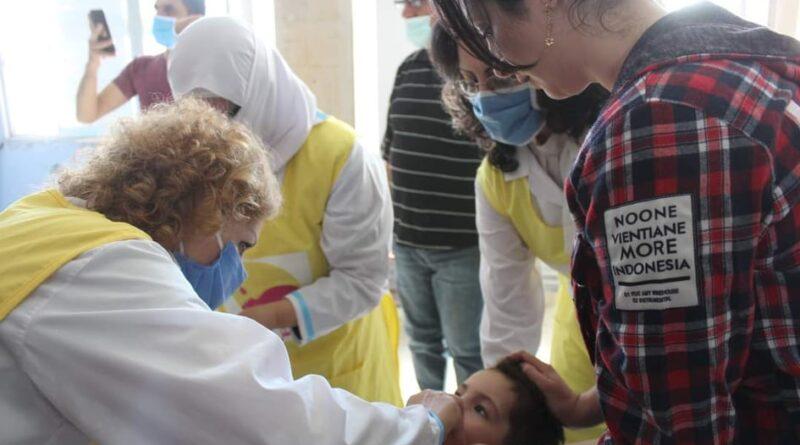 حملة اللقاح الوطني في السويداء تستهدف ٤٥ ألف طفل