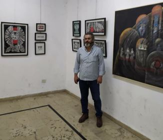 إياد بلال: من الطبيعي أن تتغير رؤى الفنان وأدواته في زمن الحروب