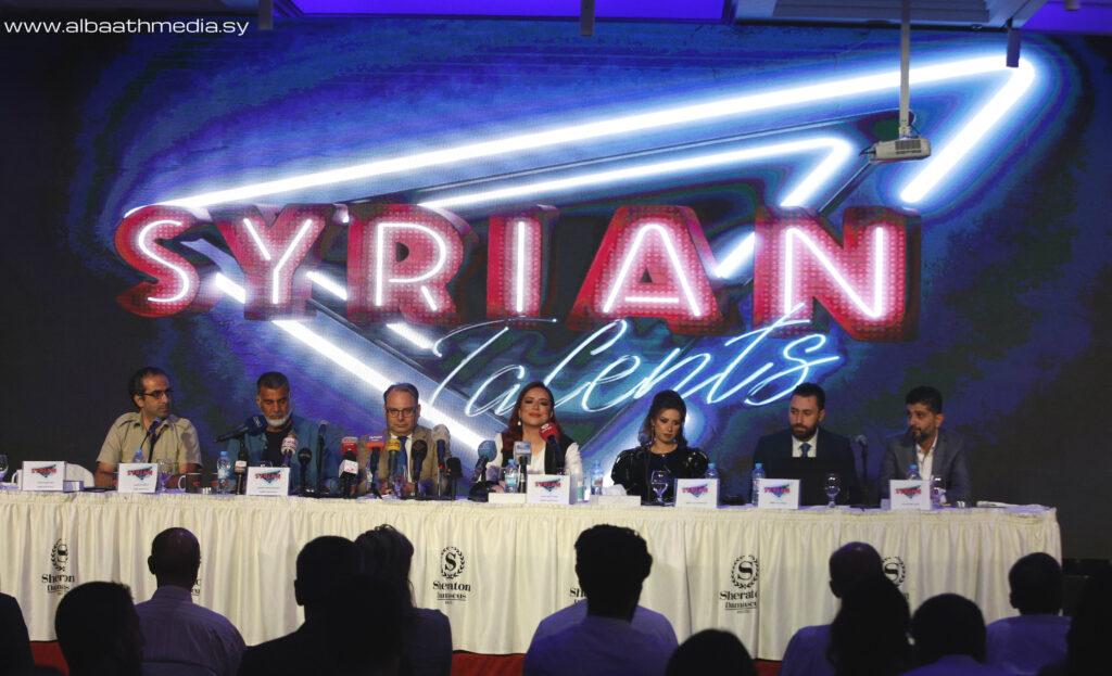"""إطلاق برنامج المواهب السورية """"Syrian Talents"""" «صور+فيديو»"""