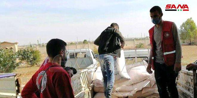 معونات زراعية للأسر المتضررة من الإرهاب بريف حماة
