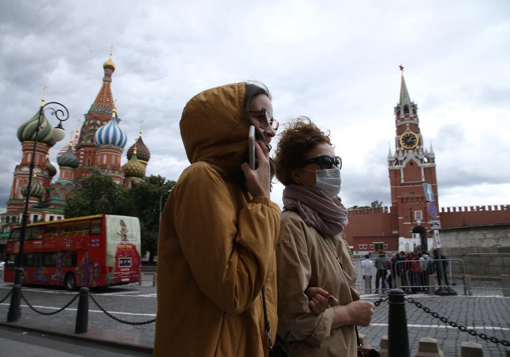 """تسجيل 23675 إصابة جديدة بـ""""كورونا"""" في روسيا"""