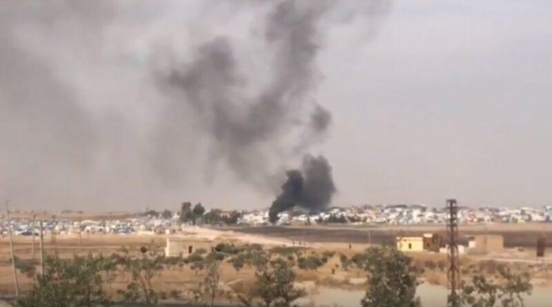 اعتداءات بالمدفعية على صوامع قزعلي بريف الرقة