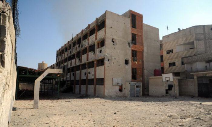 بريف إدلب الجنوبي.. تأهيل مدارس متضررة جراء الإرهاب