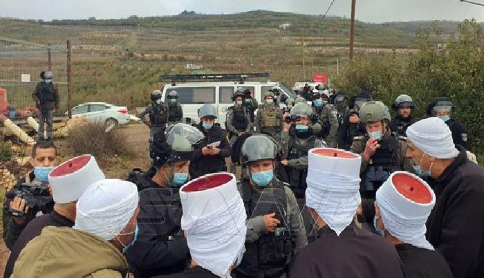 الجولان - الاحتلال الاسرائيلي