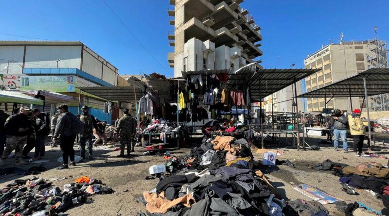 ارتفاع عدد ضحايا تفجيري بغداد
