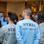 السيدة أسماء الأسد تلتقي المشاركين في الأولمبياد العلمي.. التعليم الإلكتروني جزء أساسي من التعليم