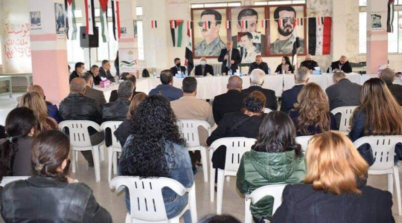 اللاذقية.. تقييم خطط وبرامج العمل الحزبي في مؤتمرات الفرق الحزبية