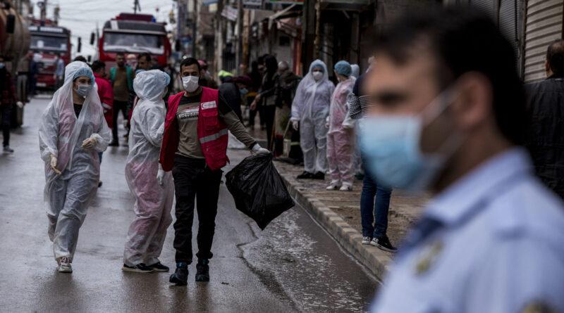 فيروس كورونا في سورية