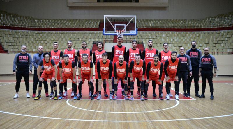 منتخب سورية - كرة السلة